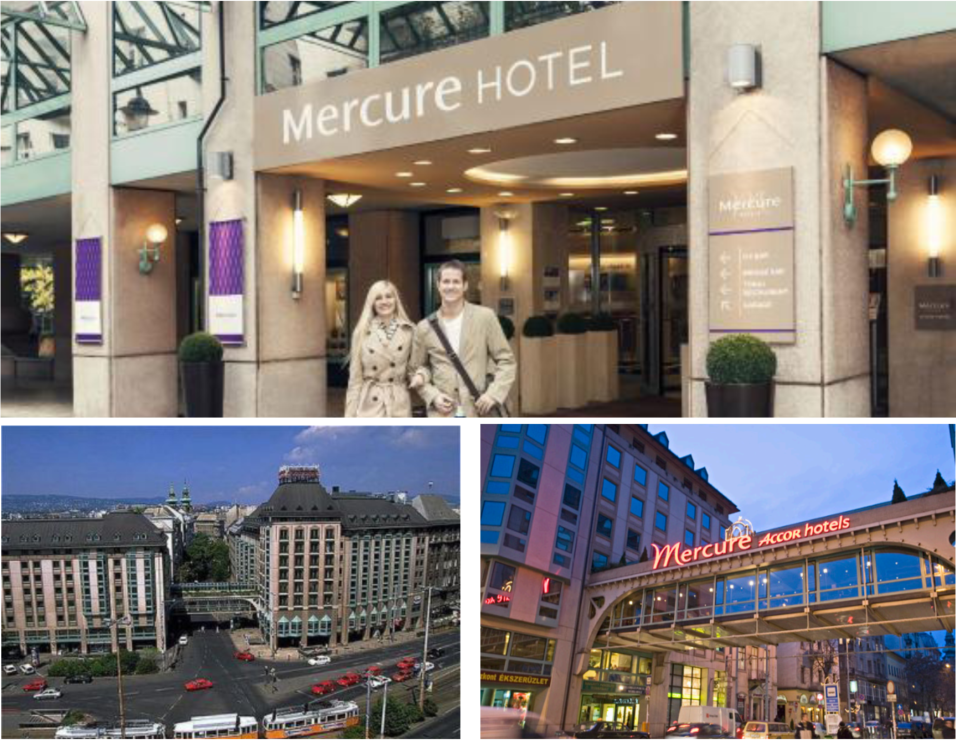 Photos of the Mercure hotel in Budapest